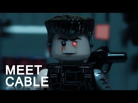 Deadpool, Meet Cable IN LEGO (видео)