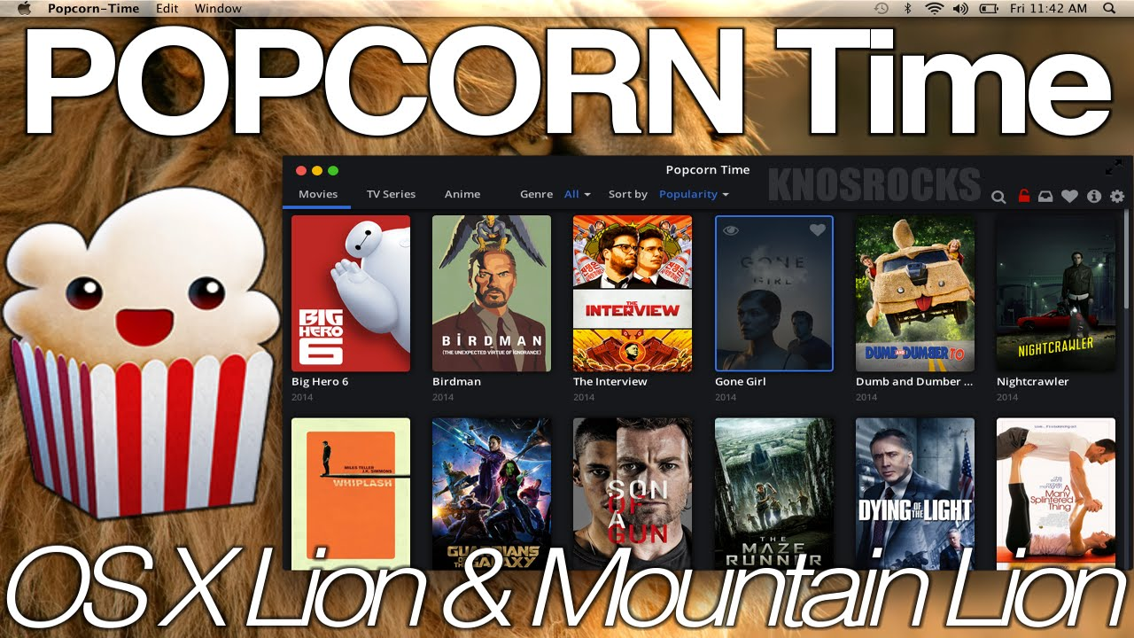 How To Install Popcorn Time On Mac OS X Lion & Mountain Lion