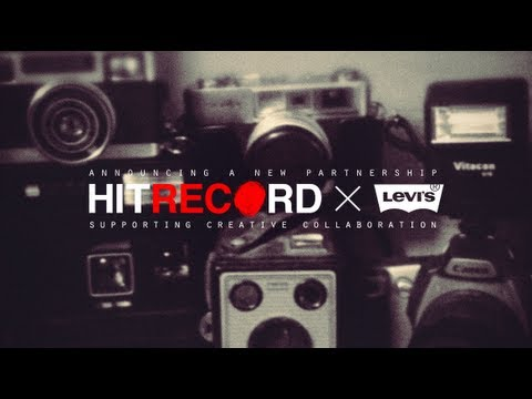 0 Levis Forms New Partnership with Joseph Gordon Levitts hitRECord Creative Community