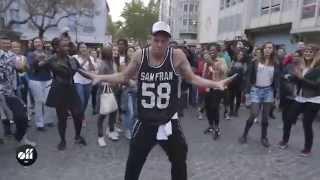 Kiesza in Paris: Flashmob at Centre Pompidou