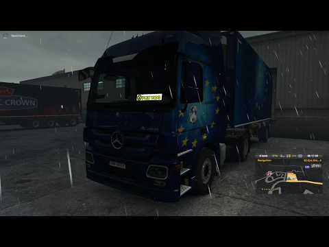 Mercedes Actros Real Sound v5.0