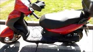 10. 2008 Sym Symply 50 cc walkaround, demo and on board footage For Sale