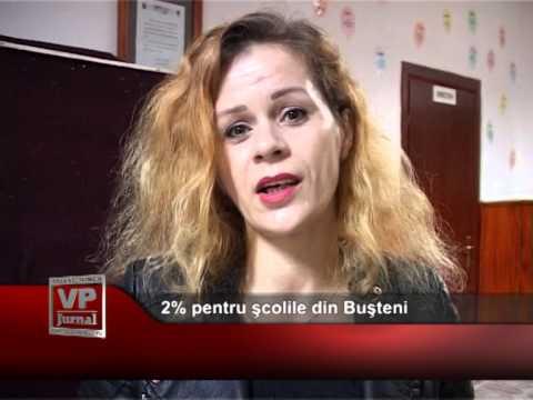 2% pentru școlile din Bușteni