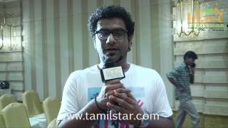 Haricharan at Kashmir Flood Fund Raising Press Meet