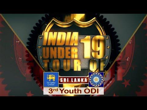 Sri Lanka U19 vs India U19, 3rd Youth ODI