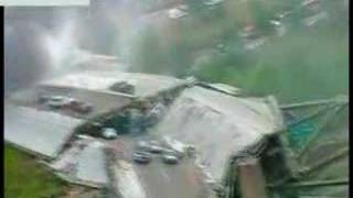 (LONG VERSION) Minneapolis Bridge Collapse Minnesota Video