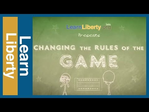 Football Law: Changing the Rules of the Game