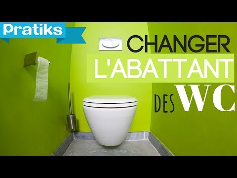 comment monter lunette toilette