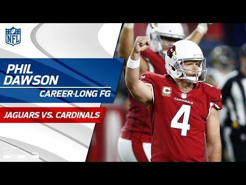 Video: Arizona's Game-Winning Drive Ends w/ Phil Dawson's Career-Long FG! | Jags vs. Cardinals | NFL Wk 12