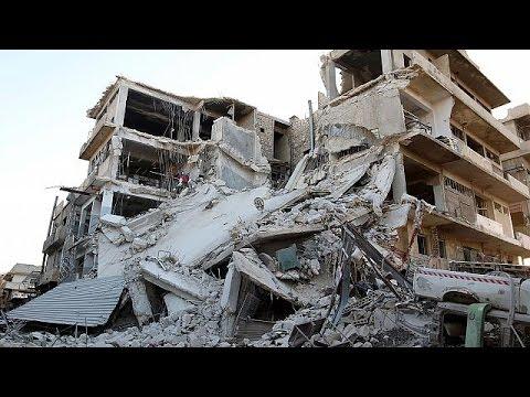Ανηλεώς σφυροκοπείται από αέρος το Χαλέπι