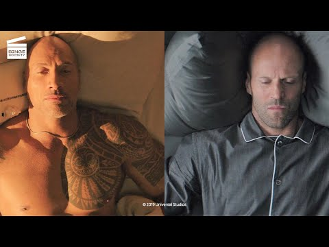 Fast and Furious: Hobbs and Shaw: Morning routine HD CLIP