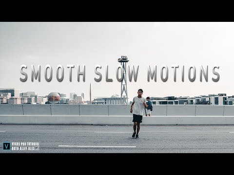 Create Super smooth Slow Motions videos with Magix Vegas Pro 16 Tutorials