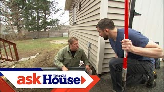 How to Install a Channel Drain   Ask This Old House