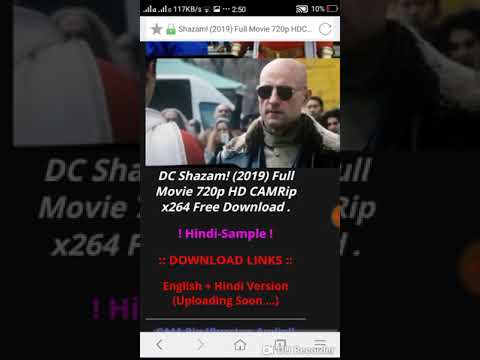 how to download shazam full movie link