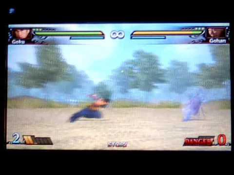 dragon ball evolution psp gameplay