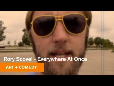Everywhere At Once - Rory Scovel - Art + Comedy - MOCAtv