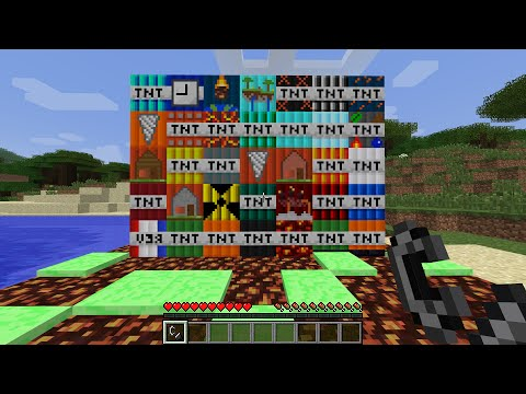 More TNT MOD in Minecraft (SO MUCH TNT)