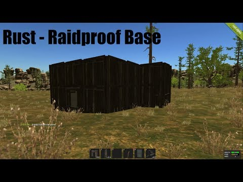 Rust - Raidproof Base