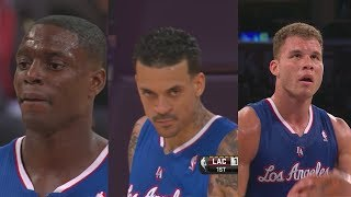 Blake Griffin - Clippers - Los Angeles - Matt Barnes - Darren Collison