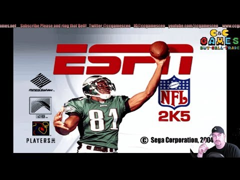 NFL2K5 With updated rosters Thursday Night Ravens vs Bengles