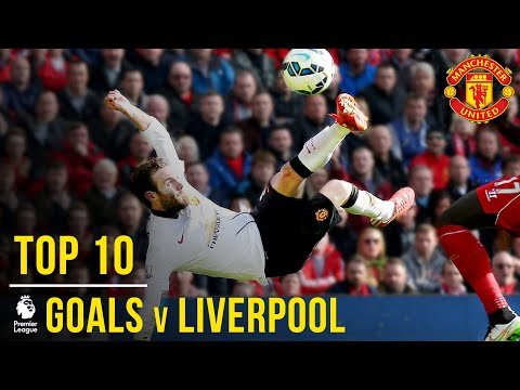 Manchester United's Top 10 Premier League Goals V Liverpool | Manchester United