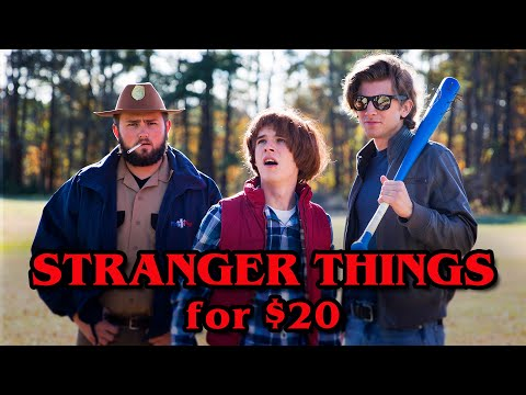 Stranger Things 2 for $20 (budget remake)
