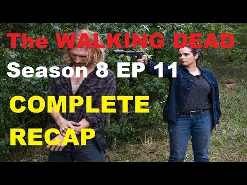 The Walking Dead Season 8 - EPISODE 11 Dead or Alive OR - RECAP LIVE