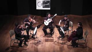 Concerto in A, op. 30 | Mauro Giuliani | Quarteto Capital & Alvaro Henrique (19th Century guitar)
