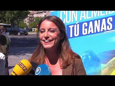 Propuestas informativas de Andrea Levy Soler y Jose Luis Martínez-Almeida