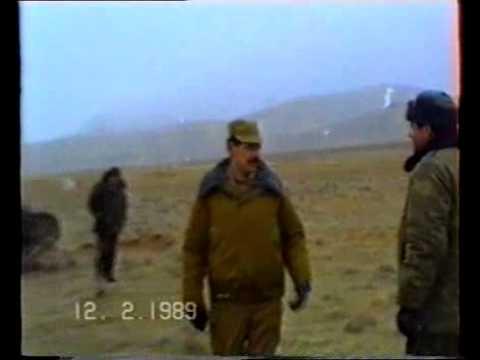 ТОС-1 в Афганистане