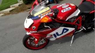 9. Ducati 999R Fila #137 of 200 SOLD 1229 miles