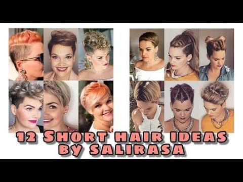 Hairstyles for short hair - 12 easy styles for short hair  Salirasa