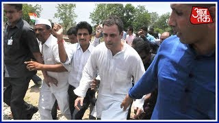 Mandsaur farm Protest: Violence Spreads, Rahul Gandhi Meets Victims