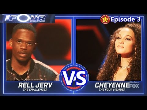 Rell Jerv Vs Cheyenne Elliott Full Performance With Results &Comments The Four 2018 Episode 3