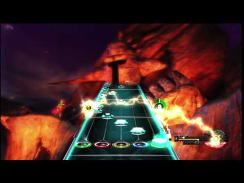 Guitar Hero - This is the final boss battle for the game. First song: Holy Wars... The Punishment Due by Megadeth Second song: This Day We Fight! by Megadeth Third song: S...