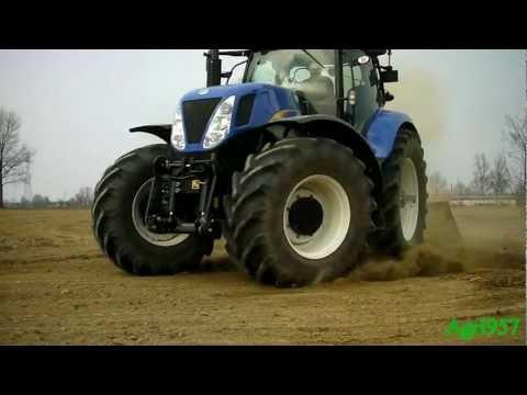 T7060 - http://www.facebook.com/pages/Agri957/398171046876337 Livellatura in risaia il 4 Marzo 2012 con un New Holland T7060 Power Command e una livella Mara. Il New...