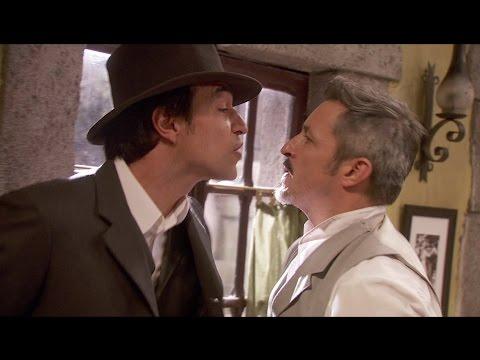 il segreto - alfonso caccia il ladro che lo ha sorpreso con hortensia