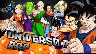 RAP DE UNIVERSO 7  IVANGEL MUSIC  DRAGON BALL RAP