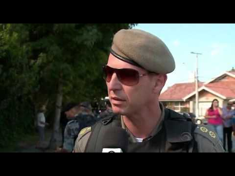 Assalto termina em tiroteio com a polícia em Pelotas - RBS TV