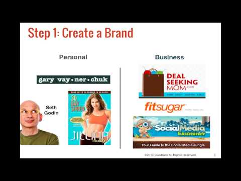 ClickBank Affiliate Training Step 2: Build Your Platform