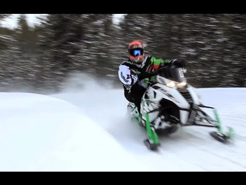 2013 Arctic Cat F1100 Turbo Sno Pro RR Snowmobile Review