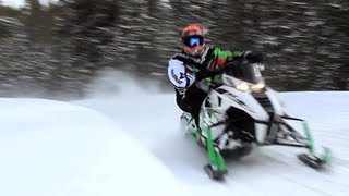 6. 2013 Arctic Cat F1100 Turbo Sno Pro RR Snowmobile Review