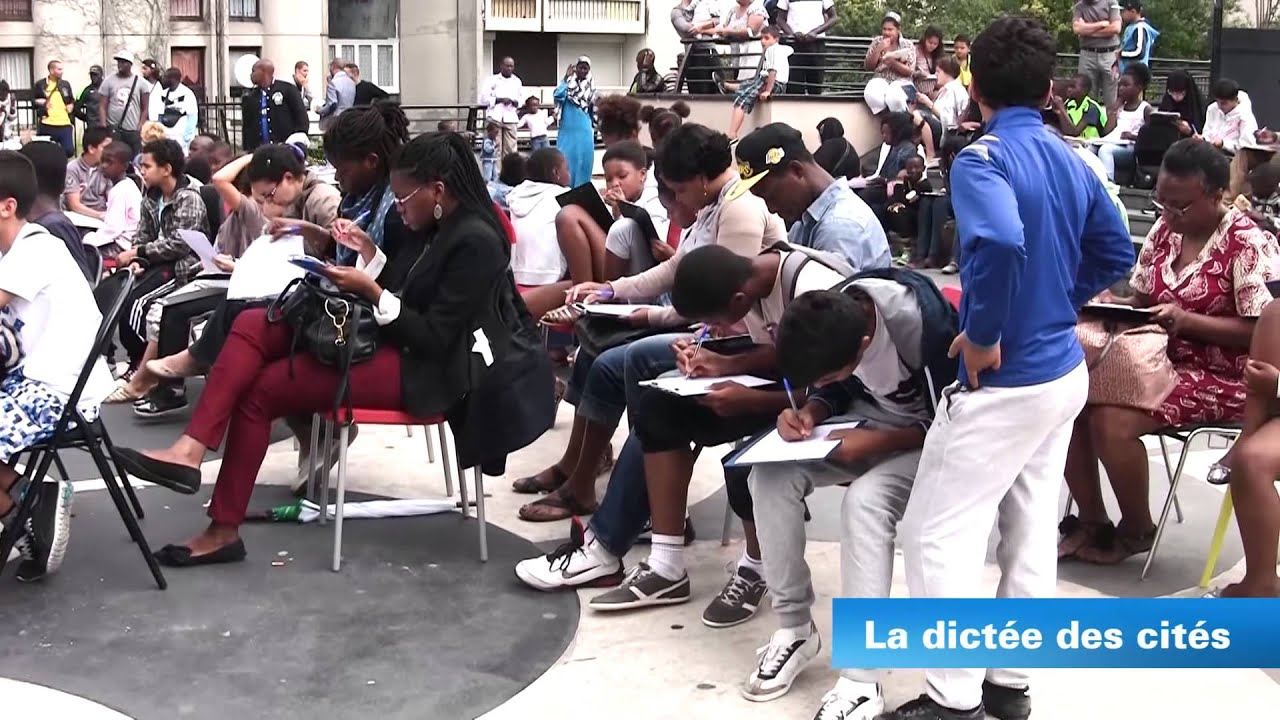 La dictée des cités à Argenteuil
