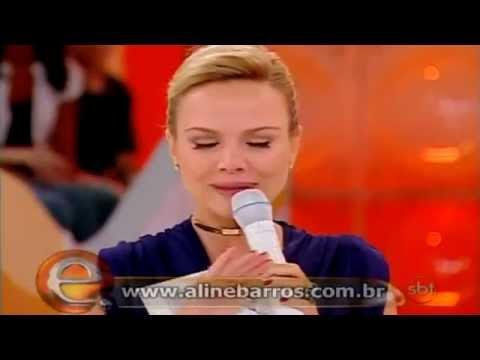 Eliana chora com a can��o Ressuscita-me de Aline Barros