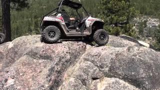 8. Polaris RZR-S Rock Climbing