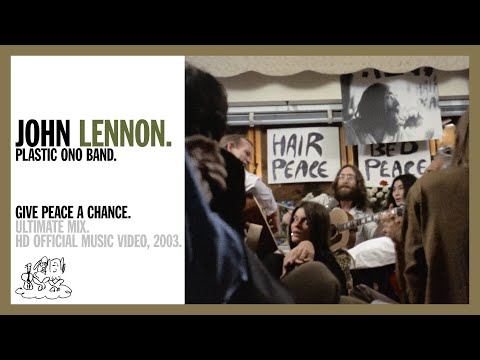 Give Peace A Chance - Plastic Ono Band (official music video HD)
