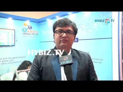 , Rajesh j Shah, Krish Chemicals-IPHEX 2017