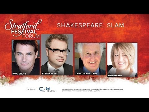 festival - Stratford Festival Forum's Shakespeare Slam -- This celebration marking Shakespeare's 450th birthday will be hosted by Artistic Director Antoni Cimolino, and will showcase the Festival's 2014...