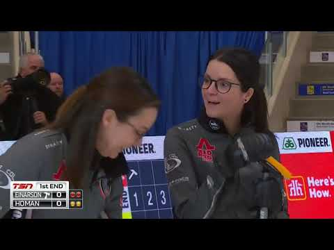 2018 Home Hardware Canada Cup - Einarson Vs. Homan (Draw 2)