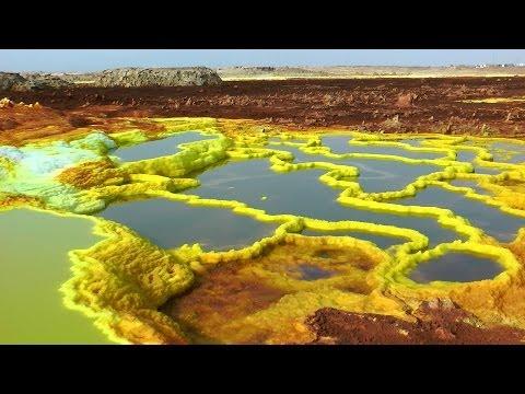 Tämä etiopialainen maisema on kuin toiselta planeetalta